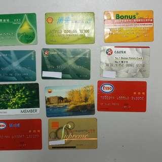 舊咭 一 入油卡 電話卡 每張20起
