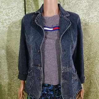 Blazer Denim Jacket