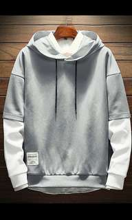 Men's Simply Hoodie Color Grey Leisure Style Import!