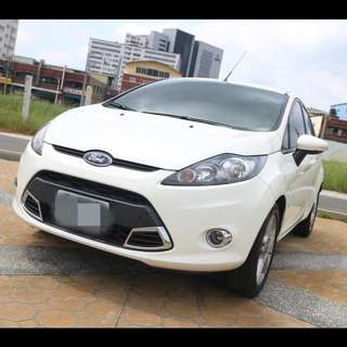 2012年 FIESTA 1.6 5D 白色     大桃園優質二手中古車買賣