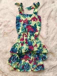 EUC Unbranded Hilow summer dress coachella 3T