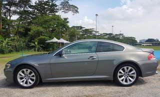 BMW 6 series 630i for rent
