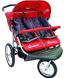 IN-STEP DOUBLE STROLLER