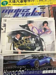 李逸朗蔣雅文簽名cd
