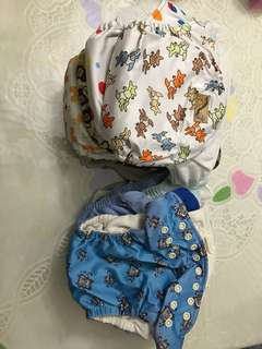 All in one Cloth Diapers - 14 pieces