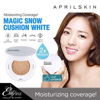 🚚 [APRIL SKIN] Magic Snow Cushion White #23 - Natural Beige