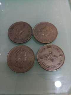 香港錢幣1圓大餅(每個)