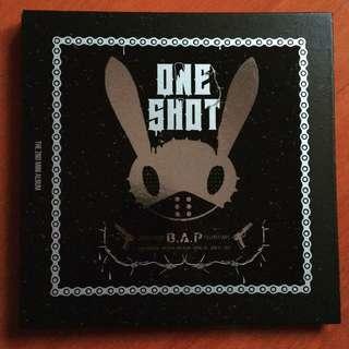 🚚 🌟 B.A.P ONE SHOT 台壓CD+DVD豪華版