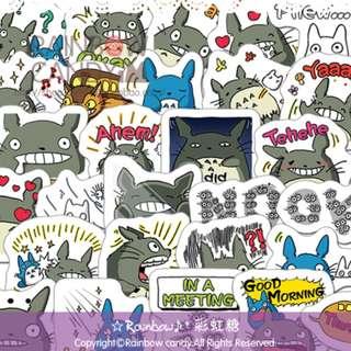 TOTORO mini stickers B