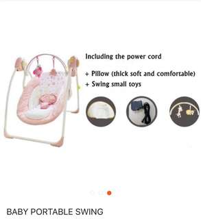 Portable Baby Swing To Let Go