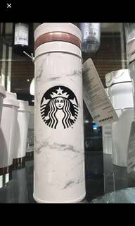 Starbucks Marble Thermal Flask ( Limited edition from Korea)