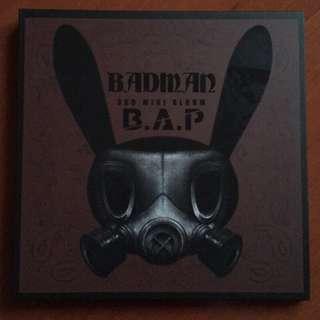 🌟B.A.P Badman CD+DVD豪華台壓版