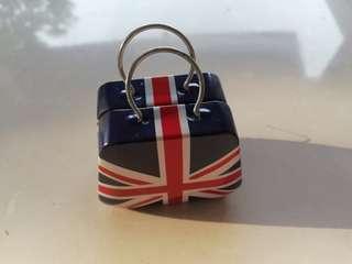 Empty mini handbag tin rm3 NEW
