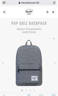 文青背包 Herschel backpack