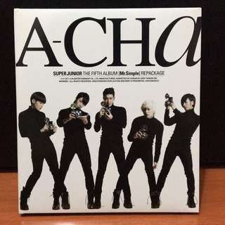 🚚 🌟Super Junior A-Cha 台壓版