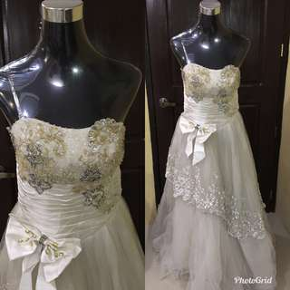 Wedding gown for sale!!