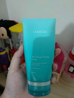 Laneige pore deep cleansing foam