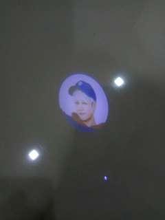 Got7 Jackson mini torch light fly first concert merchandise