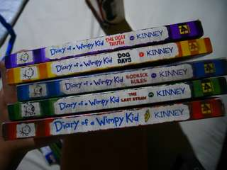 Diary of a Wimpy Kid set 1 to 5