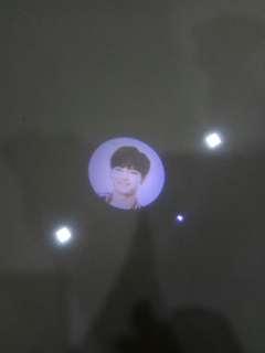 Got7 JB jaebum mini torch light fly first concert merchandise