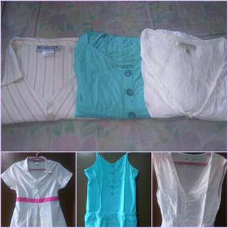 3pcs Maternity Blouse For 2-5months (PRELOVED)