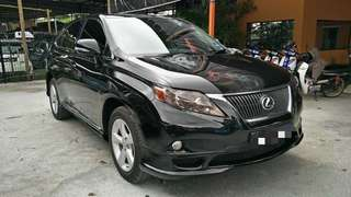 Lexus RX 350 3.5 sunroof 2010 local spec