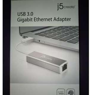 USB 3.0 Gigabit Ethernet Adapter
