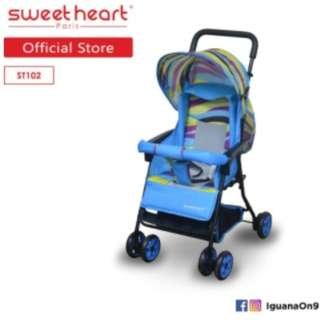 Sweet Heart Paris ST102 Buggy Stroller (Blue)