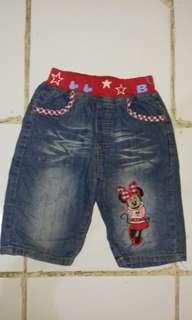celana jeans / anak perempuan
