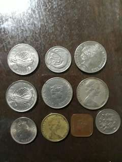 Mix Old Coins