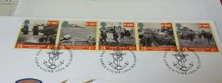 GB UK England D-Day Stamps & Special Postmark #1