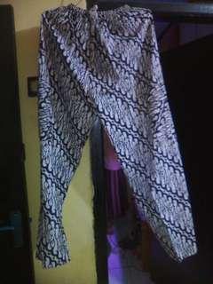 Celana kulot batik cowo