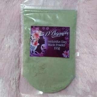 Bentonite Clay Mask Powder 100g