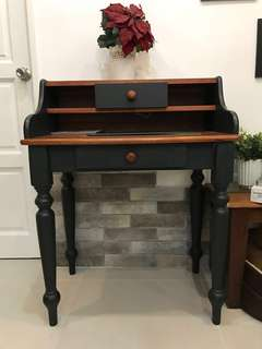 Antique dressing/display table