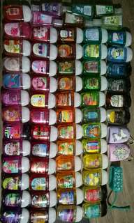 Bath and body works Hand sanitizer grab bag