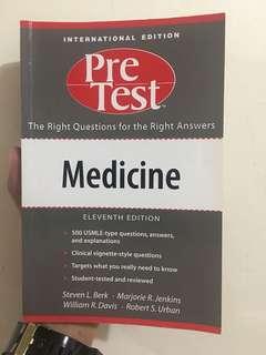 Pre Test Medicine