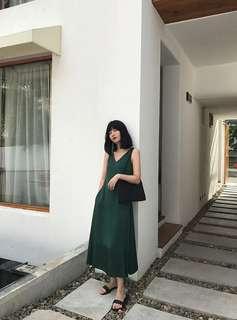 Cass Shop emerald dress