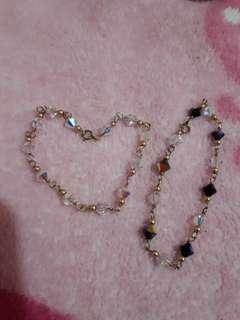 2 Swarovski bracelet