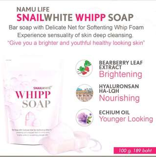 Whitening Soap (Snailwhite whipp Soap)