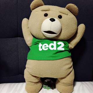 Ted Ted2 Green Tee Plush