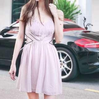 Elegant Pink Dress