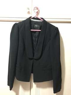 Playlord 黑色西裝外套 black blazer