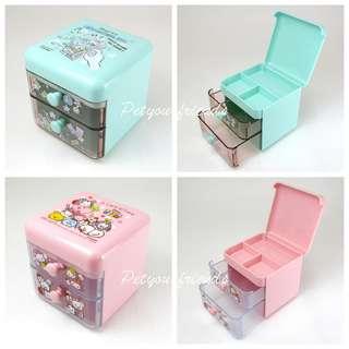 預訂品!! 日本迪士尼 Monster Inc. Tsum Tsum 小物櫃筒仔