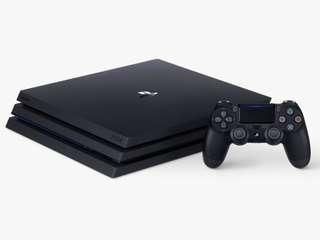 PS4 PRO 1TB HDD