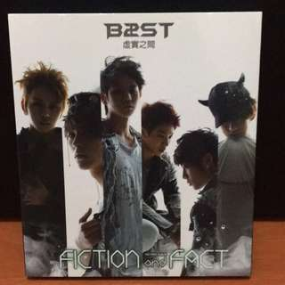 🚚 🌟BEAST - Fiction and fact 台壓版