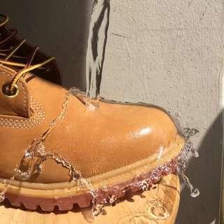 Timberland添柏嵐正品代購男鞋高幫10061經典大黃靴防水男女鞋10361