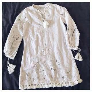 Talitha luxury bohemian dress (XS/S)