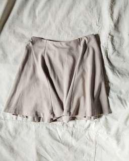 🌺 Nude Skater Skirt