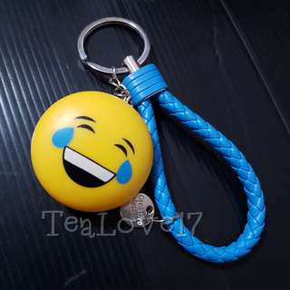 Emoji Keychain with light