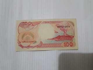Uang 100 pinishi